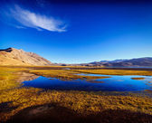 Lake Tso Moriri in Himalayas — Stock Photo