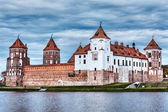 Mir castle in Belarus — Stock Photo