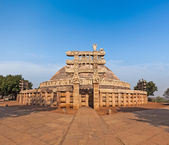 Great Stupa. Sanchi, India — Stock Photo