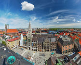 Aerial view of Munich, Germany — Stock Photo
