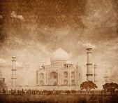 Taj mahal, agra, hindistan — Stok fotoğraf