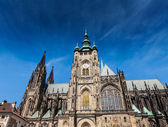 St. Vitus Catherdal, Prague — 图库照片
