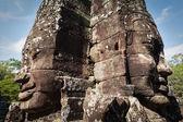 バイヨン寺院、アンコール、カンボジアの顔 — ストック写真