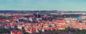 Aerial view of Hradchany — Stock Photo