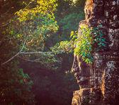 Face of Bayon temple, Angkor — Stock Photo