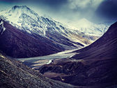 View of Himalayas, India — Stock Photo
