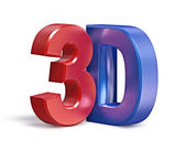3D text — Stock Photo
