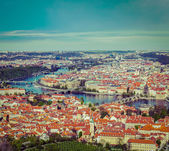 View of Charles Bridge — Stockfoto