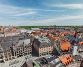 Aerial view of Munich — Stock Photo