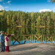 Forest lake — Stock Photo #13618520