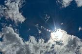Sun clouds — Stock Photo