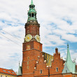 Stock Photo: Town Hall in Wroclaw