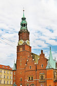 Town Hall in Wroclaw — Stock Photo