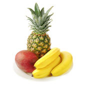 Fresh tropical fruits — Stock Photo