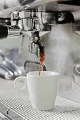 Proffesional coffee machine — Stock Photo