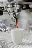 留年コーヒー マシン — ストック写真