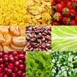 Stock Photo: Food backgrounds