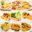 Collage with meals — Stock Photo #19559395