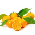 Tangerine isolated — Stock Photo