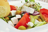 Greek salad — Stock fotografie