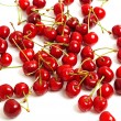 Heap of sweet cherries — Stock Photo