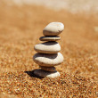 Cairn on the sand — Stock Photo #29043099