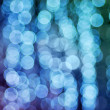Stock Photo: Christmas rainbow bokeh