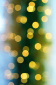Christmas vintage bokeh — Stock Photo