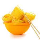 Pasta nests — Stock Photo