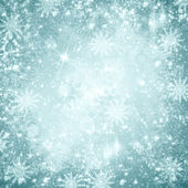 Christmas snow background — Stock Photo