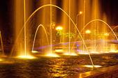 Batumi fountain show — Stock Photo