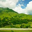 Green mountains — Stock Photo