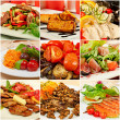 Collage with meals — Stock Photo #41254679