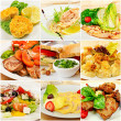 Collage with meals — Stock Photo #41254771