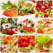Collage with meals — Stock Photo #43825341