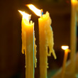 Candles in church — Stock Photo #43843497