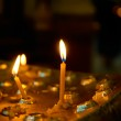 Candles in church — Stock Photo #43843637