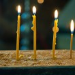 Candles in church — Stock Photo #45934917