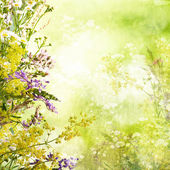 Floral easter background — ストック写真