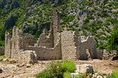 Olympos ruins — Stock Photo