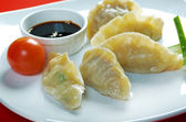 Dim-sum call Gyoza — Stock Photo