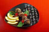 Tradycyjny deser japoński — Zdjęcie stockowe