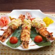 Royal tiger shrimps — Stock Photo #12870324