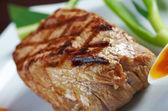 Japanse kobe rundvlees gebraden — Stockfoto