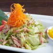 Royalty-Free Stock Photo: Japan salad with smoked chicken