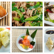 Food set  chinese cuisine - Stock Photo
