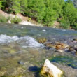 Mountain river. Turkey. — Stock Video