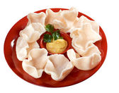 Chinese cuisine .Chinese dim sum appetizers — Stock Photo