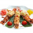Royal tiger shrimps — Stock Photo #16222773