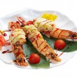 Royal tiger shrimps — Stock Photo